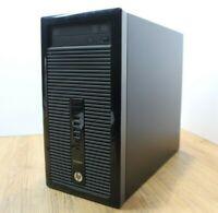 HP ProDesk 400G1 Windows 10 Tower PC Intel Core i3 4th Gen 3.4GHz 4GB 500GB WiFi