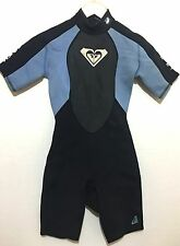 Roxy Womens Spring Shorty Wetsuit Syncro 2/2 Ladies Size 6