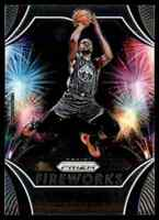 2019-20 Panini Prizm Kevin Durant Fireworks NBA Team #1 Insert
