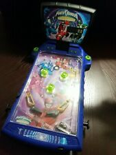 SABAN'S POWER RANGERS TIME FORCE TABLETOP PINBALL MACHINE GAME ELECTRONIC TOY