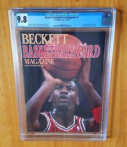 Beckett Magazine 1990 Jordan 1st Cover Newsstand CGC 9.8 None Higher