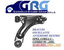 BRACCIO OSCILLANTE SOSPENSIONE Ant Dx OPEL CORSA C -COMBO Diesel-Benz 2000>2009