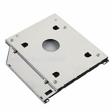 For Apple MBP MacBook Pro A1278 A1286 A1297 2nd SATA HDD SSD Caddy Adapter Tray