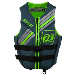 Yamaha Men's Cause Neoprene PFD by JetPilot Green