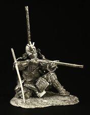 Ashigaru, Japanese foot arquebusier KIT Tin toy soldier 90 mm. metal