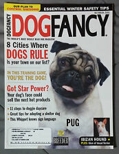 DOG FANCY MAGAZINE K-9 2001 OCTOBER PUG IBIZAN HOUND IMAAL TERRIER DAYCARE