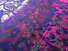 100% Micro Fibre Velvet, 'Sampioli B'  (per metre) dress fabric