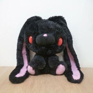 "Chax GP Gloomy Bear Black Winter Fur All Purpose Rabbit Bunny Plush Soft Toy 8"""