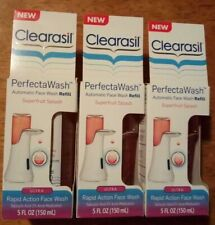 [Lot Of 3] Clearasil Perfecta Wash Face Wash Refill Superfruit Soothing Splash