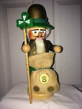 """Steinbach Nutcracker St. Patrick – """"Chubby�, S979 - Signed/Box. Rare!"""