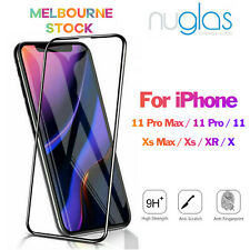 2x Genuine Nuglas Tempered Glass Screen Protector for Apple iPhone SE 5 5s 5c