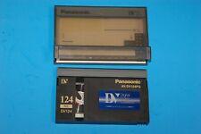 Panasonic AY-DV124PQ 124 Minute Full Size DV Digital Video Cassette