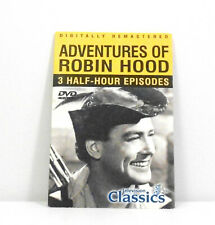 Television Classics Adventures Robin Hood Digitally Re-Mastered 3 Episodes 1 Dvd