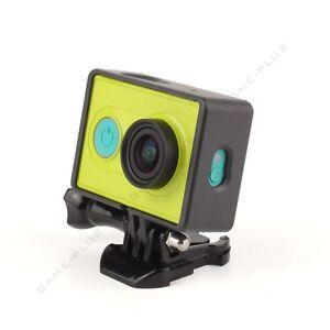 New Border Frame Mount Protective Housing Case For Xiaomi Yi Action Camera Black