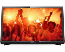 PHILIPS 24phs4031/12 LED TV (Flat, 24 pollici, HD-Ready) serie 4000er dvb-t2 HD NUOVO