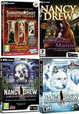Samantha swift trilogie & nancy drew blackmoor manor & white wolf icicle & crystal skul