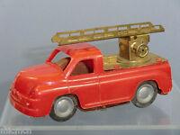 VINTAGE  FRICTION DRIVEN TINPLATE / PLASTIC  MODEL No.XXX FIRE ESCAPE TENDER