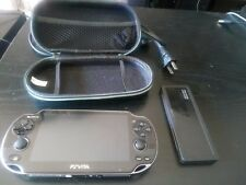 PlayStation PS Vita Console PCH-1001 With Case and Screen Protector and 8gb Mem