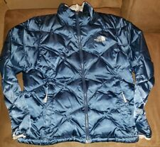 THE NORTH FACE Women's 550 Down Puffer SZ LG BLUE