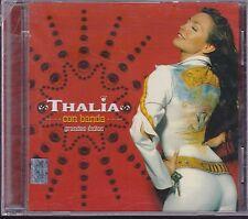 Thalia Con Banda Grandes Exitos NEW Nuevo CD