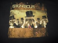 """2006 STONE SOUR """"Come What (ever) May"""" Concert Tour (LG) T-Shirt"""
