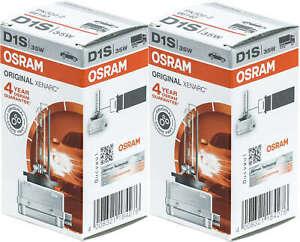 2 D1S bulb 35W ballast Xenon Osram HDI Headlights 66140 OEM car lamp replacement