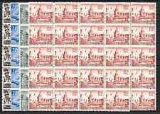 ALEMANIA GERMANY    63/6** MNH   BLOQUE DE 25  LUJO CATALOGO 850 EUROS