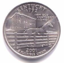 U.S.My Old Kentucky Home State Quarter 2001 D Coin Denver Mint