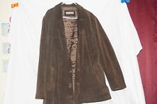 HEAVY LEATHER MEN'S JACKET SIZE L -USED-GOOD CONDITION