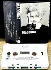 MADONNA        -  MADONNA  -                         Cassette Tape