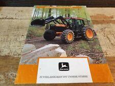 1994 JOHN DEERE 6300 6400 6600 TRACTOR Original German Sales  Brochure