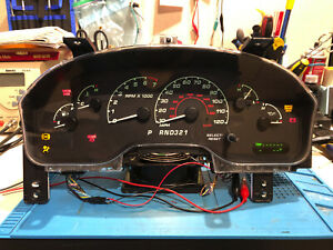 2002 FORD EXPLORER USED DASHBOARD INSTRUMENT CLUSTER FOR SALE