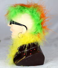 HEAD MONEYBOX - COLOURFUL PUNK - RETRO FASHION - PIGGY BANK - COLLECTABLE GIFT