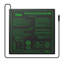 "iPower Seedling Heat Mat 20"" x 20"" Warm Hydroponic Heating Pad MET Standard"