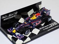 1/43 Minichamps F1 Formula 1 Red Bull Renualt Rb5 Red Bull 2009 M.Webber