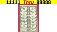 ~ 11111 - 88888  QUINT ~ set end  ser #'s = ALL RICHMOND, VA and 1995 series