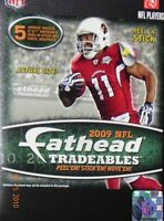 FATHEAD 2009 NFL Football Players Trading cArDs Locker Computer Wall Decals NEW