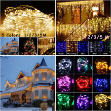 1 - 10M  AA Battery Copper Wire String Light Fairy Party Xmas Tree Decor