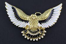 Doré Aigle en Vol Boucle Ceinture Métal Occidental Pays Américain 2fe66e63bda
