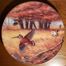 Woodcocks in September, Ken Michaelson, Sporting Yr Coll Plate, Franklin Mint