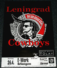 Poster Plakat - Leningrad Cowboys : on the road again - Format: DIN A1
