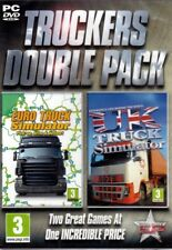 Set of 2 Trucking Sims - Euro Truck Simulator PLUS UK Truck Simulator PC Games