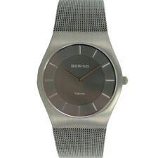 Bering Unisex Watch Wrist Watch Titan Slim Classic - 11935-077 Meshband