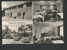 BISCHHEIM / Kamenz << Ratskeller, 4 Ans. u.a. Eingang, Freisitz...>> DDR-s/w AK