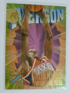 1996-97 Z-Force - Allen Iverson - Rookie Card #151
