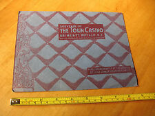 THE TOWN CASINO   BUFFALO  N. Y.  SOUVENIR  PHOTO  HOLDER