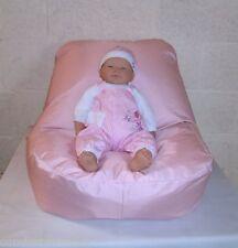 BABY POSER -  BEAN BAG FEEDING CHAIR RELAXER BEANBAG - PHOTOGRAPHY PROP - WIPE