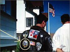FANCY DRESS HALLOWEEN COSTUME PARTY PROP: Top Gun MAVERICK Flight Jacket Patch d