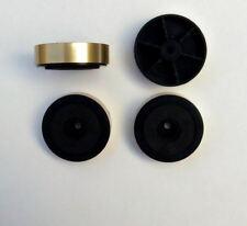 Pies de oro de 48mm X 4 para gabinete de amplificador de alta fidelidad