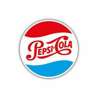 Pepsi Cola Classic Vintage Sticker Vinyl Decal 2-156